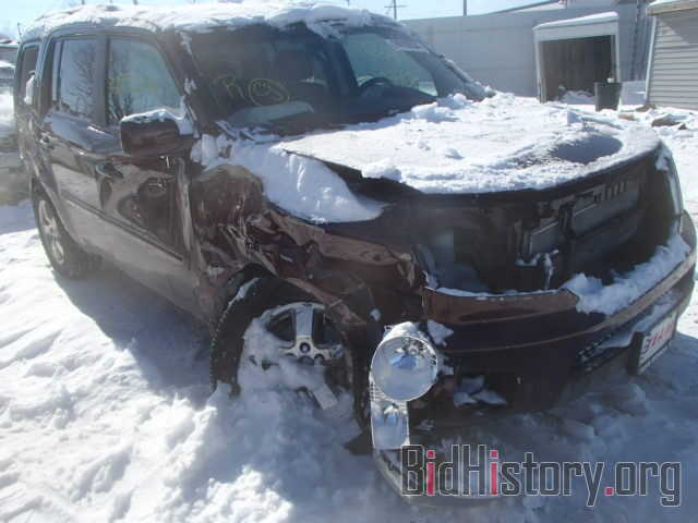 Photo 5FNYF4H52BB030792 - HONDA PILOT 2011