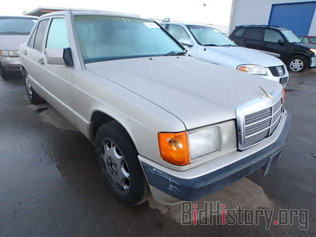 Photo WDBDA28DXNF892570 - MERCEDES-BENZ 190 1992