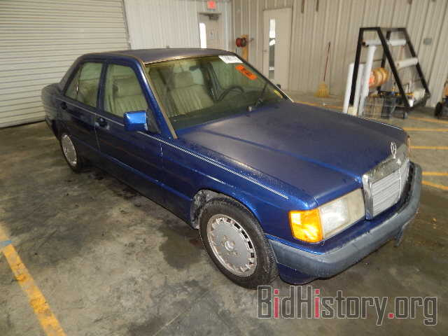 Photo WDBDA28D9NF916177 - MERCEDES-BENZ 190 1992
