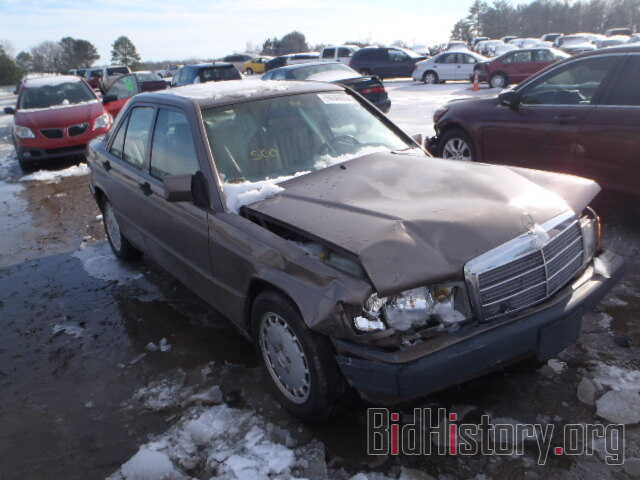 Photo WDBDA29D8NF967944 - MERCEDES-BENZ 190 1992