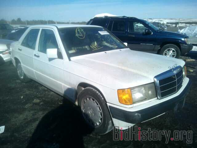 Photo WDBDA29D1NF880502 - MERCEDES-BENZ 190 1992