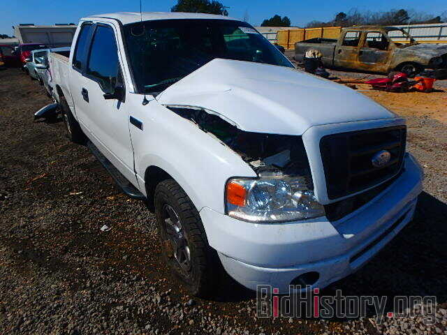 Photo 1FTRX12W18FB90345 - FORD F150 2008