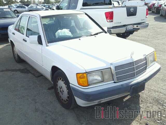 Photo WDBDA29D7NF931825 - MERCEDES-BENZ 190 1992