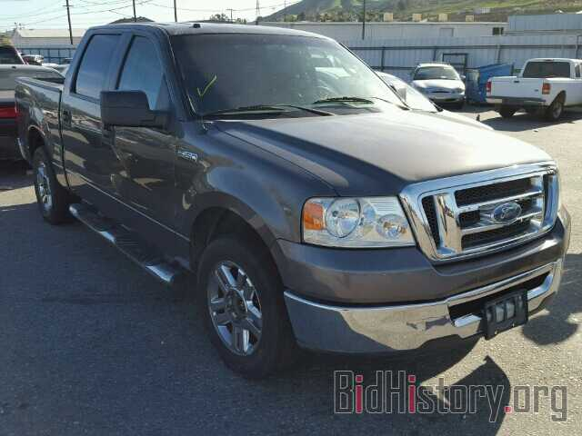 Photo 1FTPW12598KC76964 - FORD F150 2008