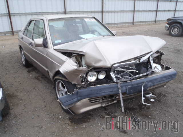 Photo WDBDA29D8NF965241 - MERCEDES-BENZ 190 1992