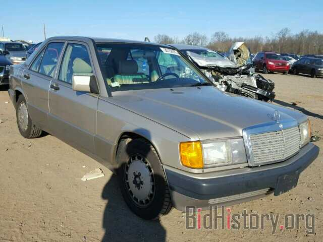 Photo WDBDA28D8NF988617 - MERCEDES-BENZ 190 1992