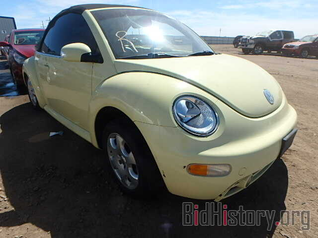 Photo 3VWCK21Y23M311113 - VOLKSWAGEN BEETLE 2003
