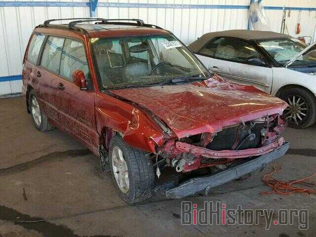 Photo JF1SF65682H724603 - SUBARU FORESTER 2002