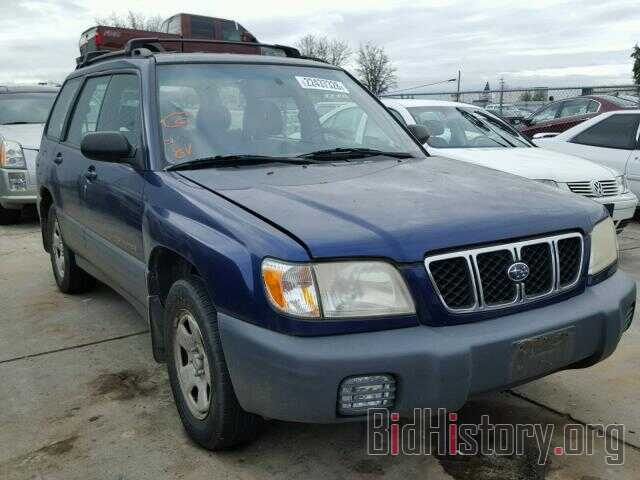 Photo JF1SF63592H738729 - SUBARU FORESTER 2002
