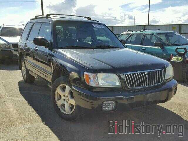 Photo JF1SF65612H753117 - SUBARU FORESTER 2002