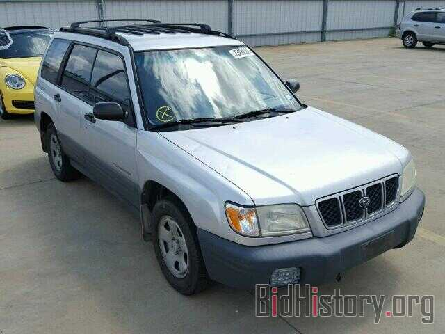 Photo JF1SF63542H702947 - SUBARU FORESTER 2002