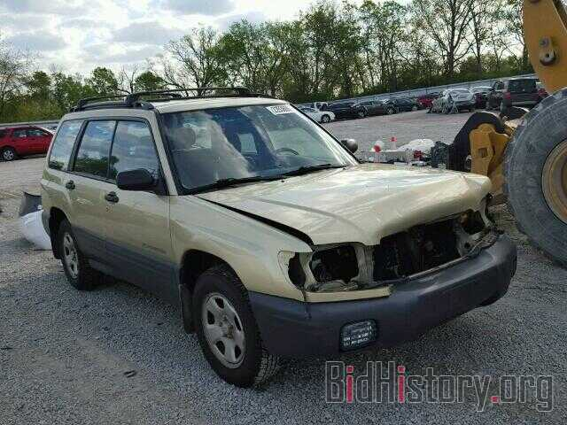 Photo JF1SF63562G718606 - SUBARU FORESTER 2002