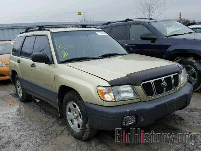 Photo JF1SF63522G733801 - SUBARU FORESTER 2002