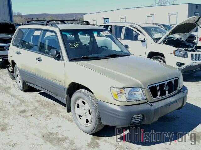Photo JF1SF63532H710571 - SUBARU FORESTER 2002