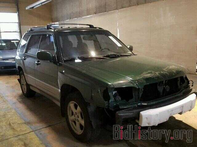 Photo JF1SF65522H712728 - SUBARU FORESTER 2002