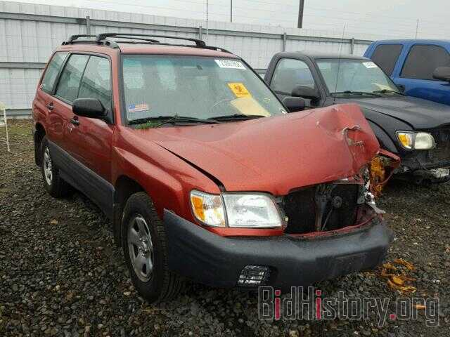 Photo JF1SF635X2H735452 - SUBARU FORESTER 2002