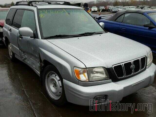 Photo JF1SF65672H730084 - SUBARU FORESTER 2002
