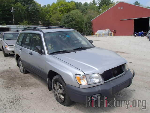 Photo JF1SF63572H738700 - SUBARU FORESTER 2002