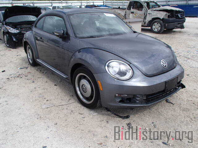 Photo 3VWJX7AT7CM647222 - VOLKSWAGEN BEETLE 2012