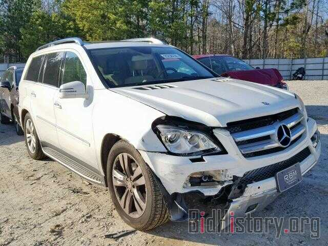 Фотография 4JGBF7BE7BA726276 - MERCEDES-BENZ GL 450 4MA 2011