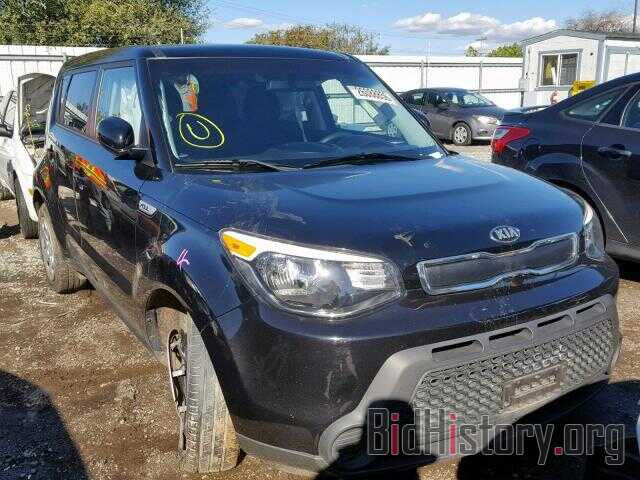 Photo KNDJN2A2XF7156032 - KIA SOUL 2015