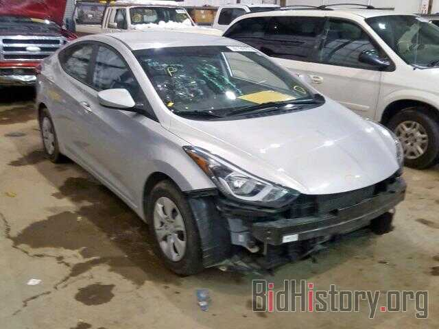 Photo 5NPDH4AE3GH786045 - HYUNDAI ELANTRA 2016