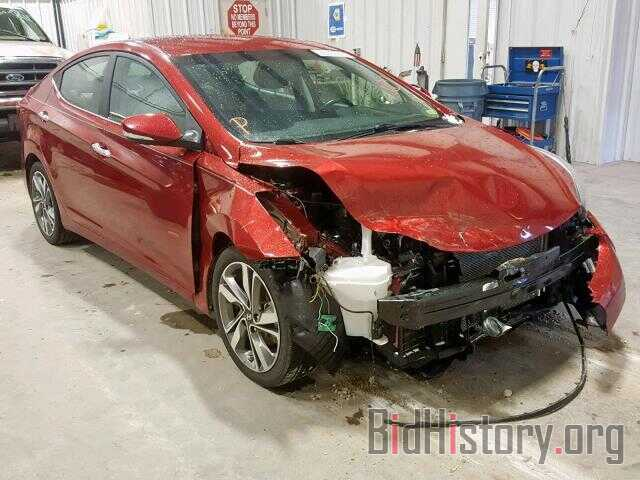 Photo 5NPDH4AE3GH730543 - HYUNDAI ELANTRA 2016