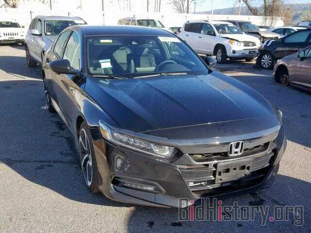 Photo 1HGCV1F30JA208611 - HONDA ACCORD SPO 2018