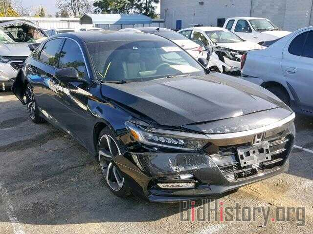 Photo 1HGCV1F30JA172399 - HONDA ACCORD SPO 2018