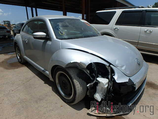 Photo 3VWJX7AT4CM614534 - VOLKSWAGEN BEETLE 2012