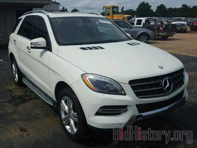 Photo 4JGDA2EB4DA251099 - MERCEDES-BENZ ML350 2013