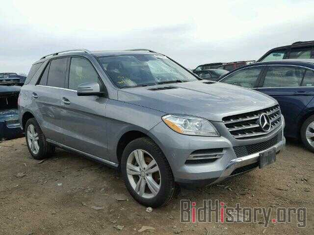 Photo 4JGDA5HB8DA192412 - MERCEDES-BENZ ML350 2013