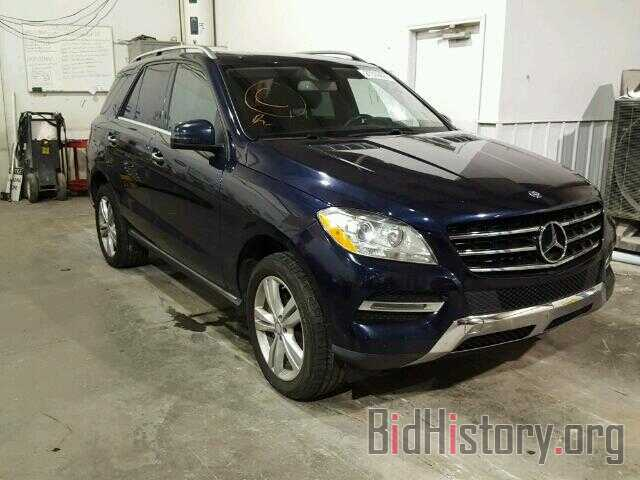 Photo 4JGDA2EB0DA190138 - MERCEDES-BENZ ML350 2013
