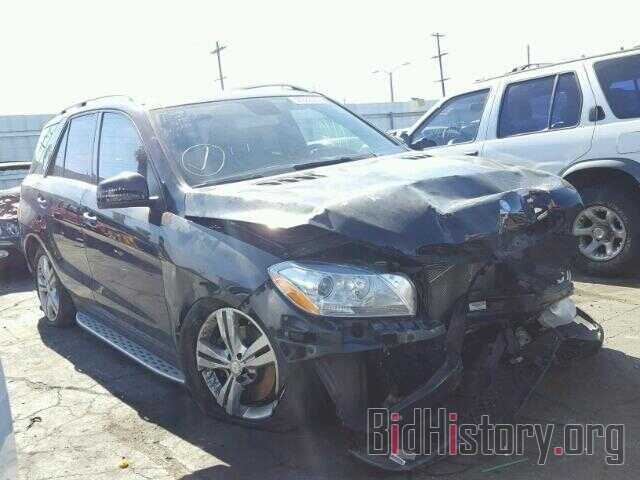 Photo 4JGDA5JB3DA259752 - MERCEDES-BENZ ML350 2013