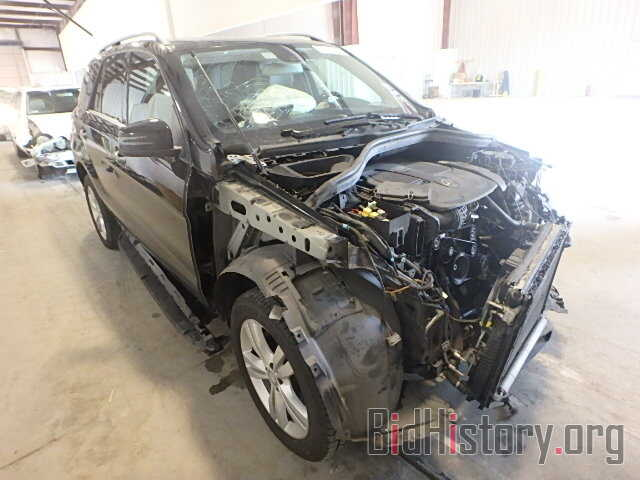 Photo 4JGDA5JB4DA160132 - MERCEDES-BENZ ML350 2013