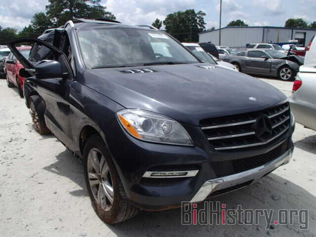 Photo 4JGDA5JB1DA151310 - MERCEDES-BENZ ML350 2013