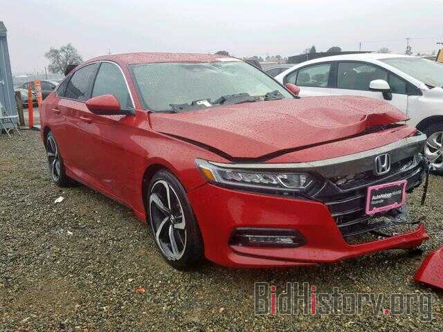 Photo 1HGCV1F39JA238674 - HONDA ACCORD SPO 2018