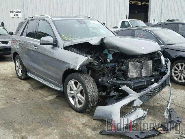 Photo 4JGDA2EB9DA215909 - MERCEDES-BENZ ML350 2013