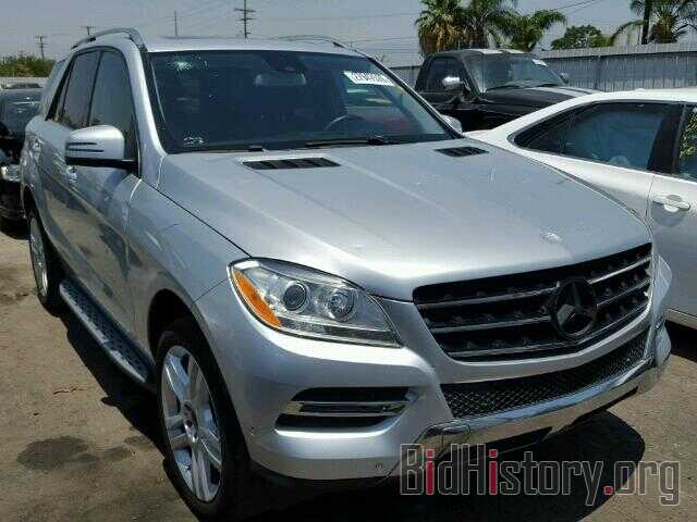 Photo 4JGDA5HBXDA154969 - MERCEDES-BENZ ML350 2013