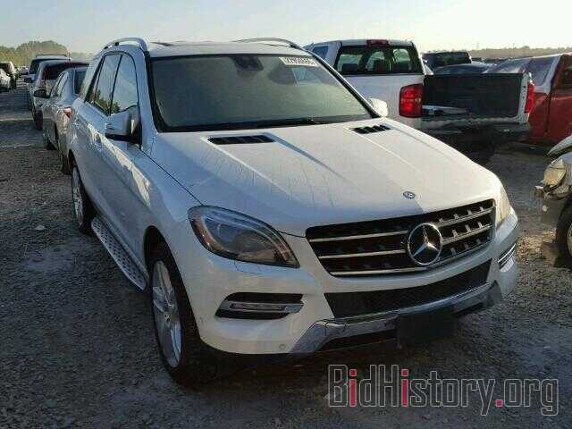 Photo 4JGDA5JB3DA103050 - MERCEDES-BENZ ML350 2013