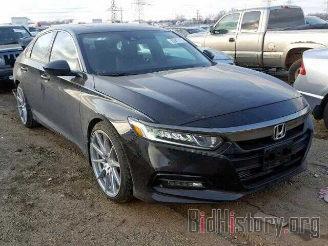 Photo 1HGCV2F34JA035861 - HONDA ACCORD SPO 2018
