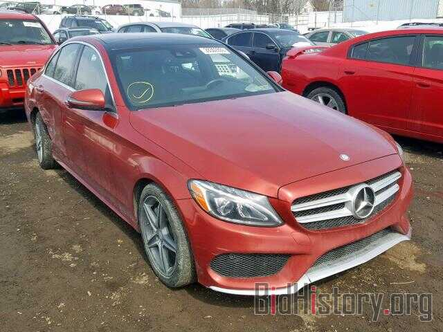Report Wddwf4kb3gr166166 Mercedes Benz C Class 2016 Red Gas Price And Damage History