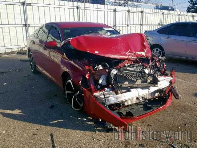 Photo 1HGCV1F31JA046455 - HONDA ACCORD SPO 2018