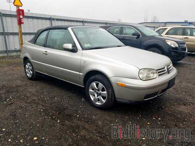 Photo 3VWDC21V31M810393 - VOLKSWAGEN CABRIO 2001