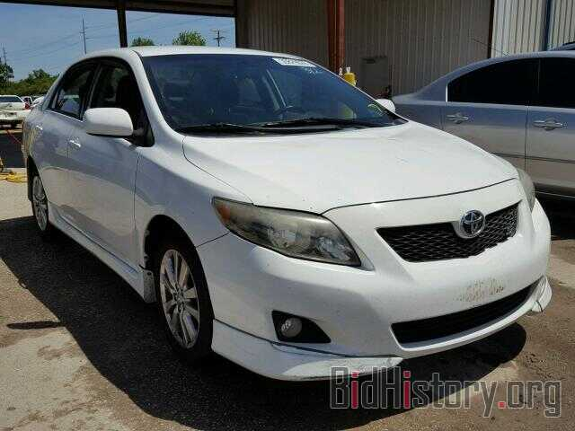 Photo 2T1BU4EE1AC450613 - TOYOTA COROLLA BA 2010