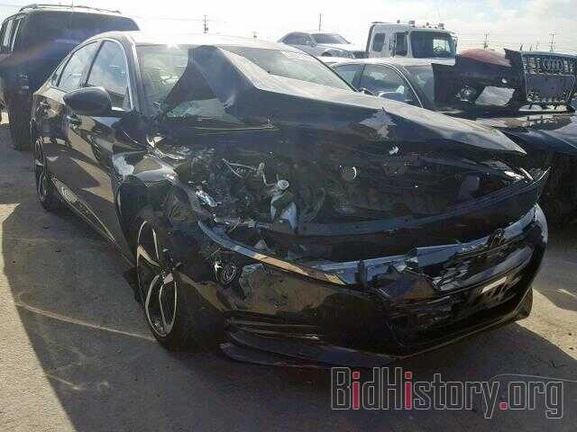 Photo 1HGCV1F35JA099062 - HONDA ACCORD SPO 2018