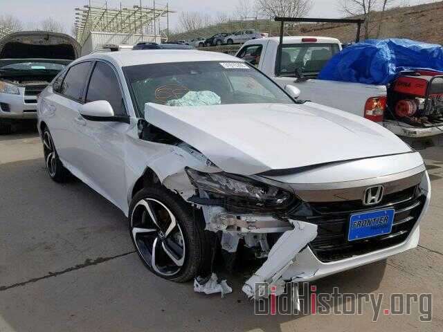 Photo 1HGCV1F34JA175483 - HONDA ACCORD SPO 2018