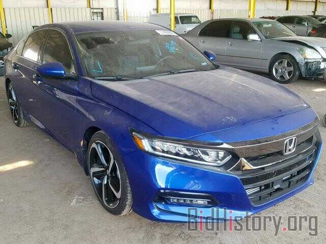 Photo 1HGCV1F39JA180193 - HONDA ACCORD SPO 2018