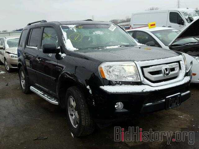 Photo 5FNYF4H54BB033032 - HONDA PILOT 2011