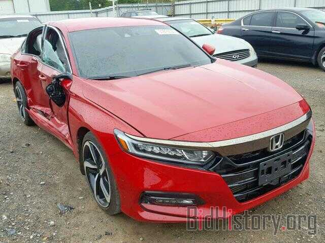 Photo 1HGCV1F34JA002806 - HONDA ACCORD SPO 2018